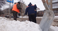 За последние дни с улиц города вывезли 20 тысяч тонн снега