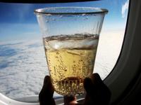 Сухой закон будет действовать в салонах самолетов