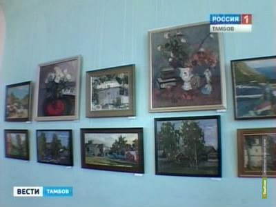 Фонд тамбовской«картинки» пополнился полотнами начинающей художницы