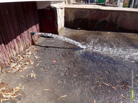В центре Тамбова появилась ещё одна река