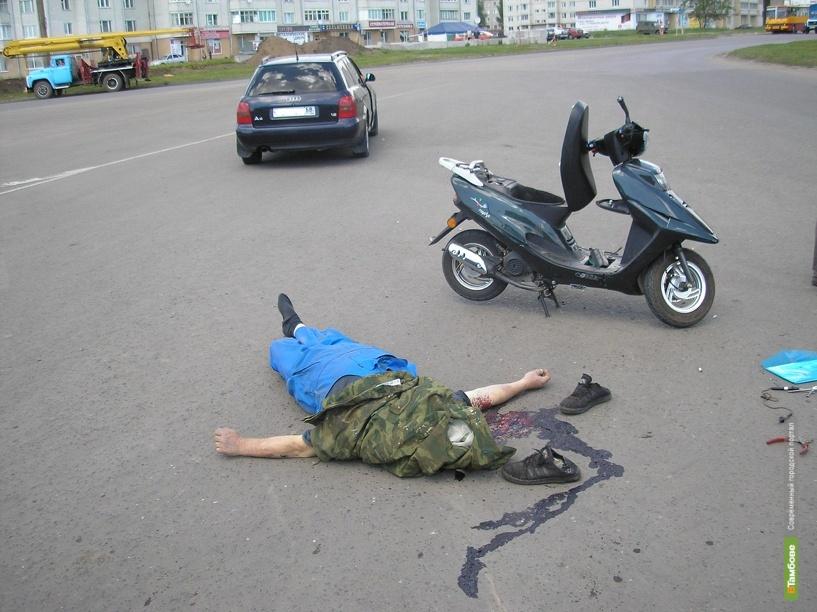 В каждом третьем ДТП в Тамбове страдают пешеходы