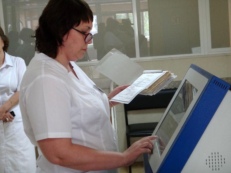 В Тамбове бумажные больничные заменят электронными