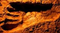 В Африке нашли полутораметровые следы древнего великана