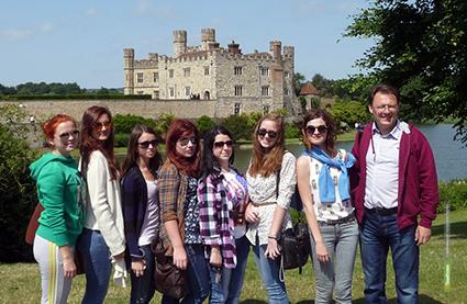 Тамбовские студенты посетили Великобританию с этнографическими целями