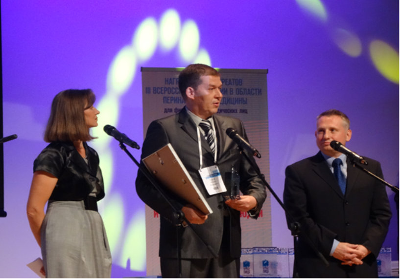 Доктор Тамбовской областной детской медицинской клиники удостоен высокой награды
