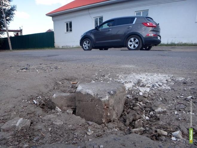 В Тамбове снова будут ремонтировать улицу и проезд Монтажников