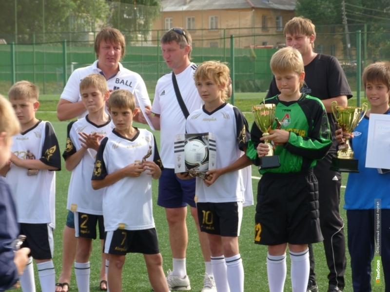 Тамбовская «Академия футбола» ищет новых игроков