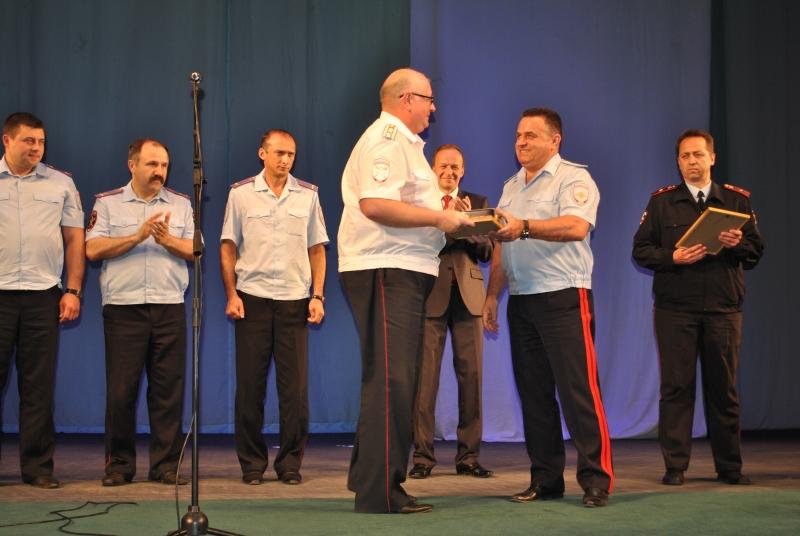 Тамбовские полицейские выступили на гала-концерте