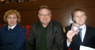 Тамбовские одаренные школьники получили паспорта из рук Сергея Чеботарева