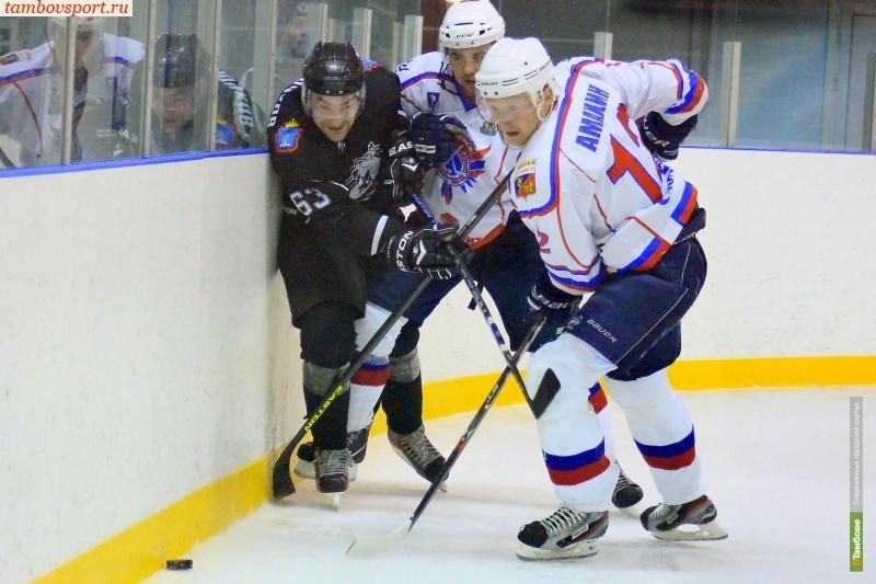 ХК «Тамбов» не будут снимать с соревнований из-за драки игроков