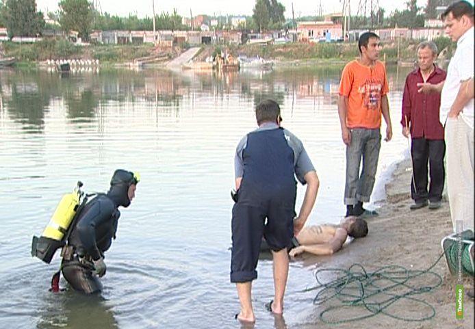 Из-за алкоголя на Тамбовщине за три дня утонули 5 человек