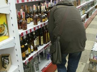Мужчина ограбил магазин ради алкоголя