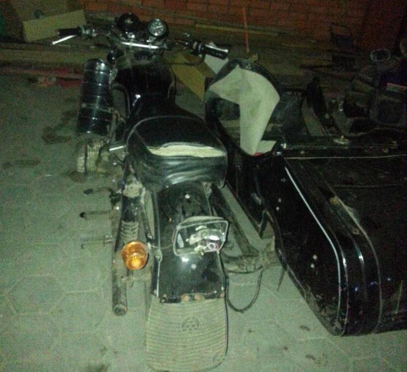 В Сосновском районе перевернулись юные мотоциклисты