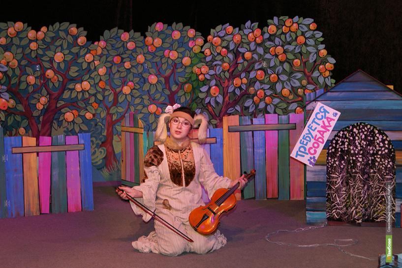 Мичуринский драмтеатр даст целую серию детских спектаклей