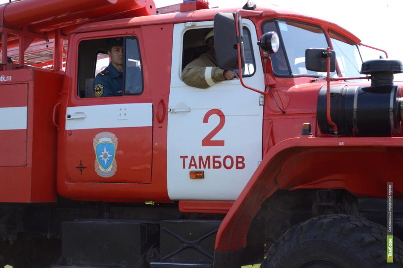 Тамбовские огнеборцы не успели спасти пенсионера