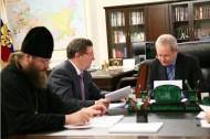 Развивать Тамбовщину Олег Бетин будет с Божьей помощью