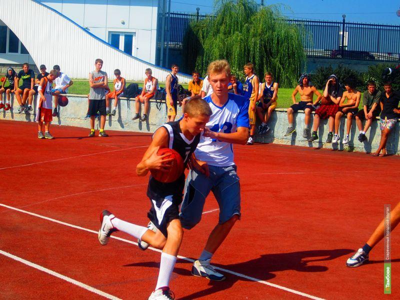 «Оранжевый мяч» собрал в Тамбове любителей уличного баскетбола