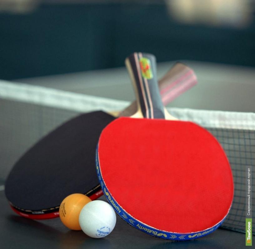 Тамбовские теннисисты встретились на «Турнире сильнейших»