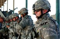 Военные полицейские выйдут на службу этой зимой