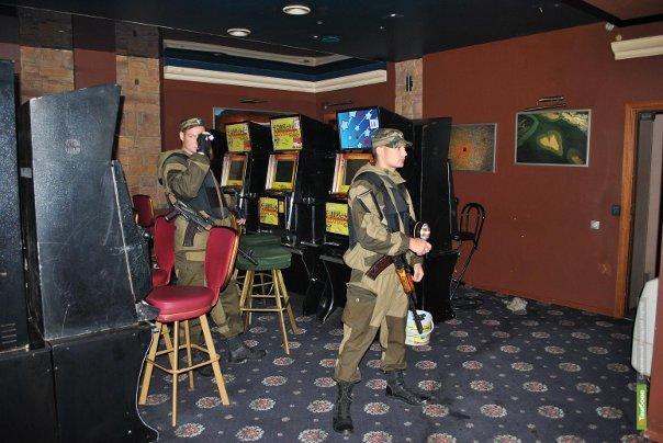 Полицейские закрыли ещё один игровой клуб на Тамбовщине