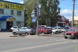 На улице Советской появился еще один светофор
