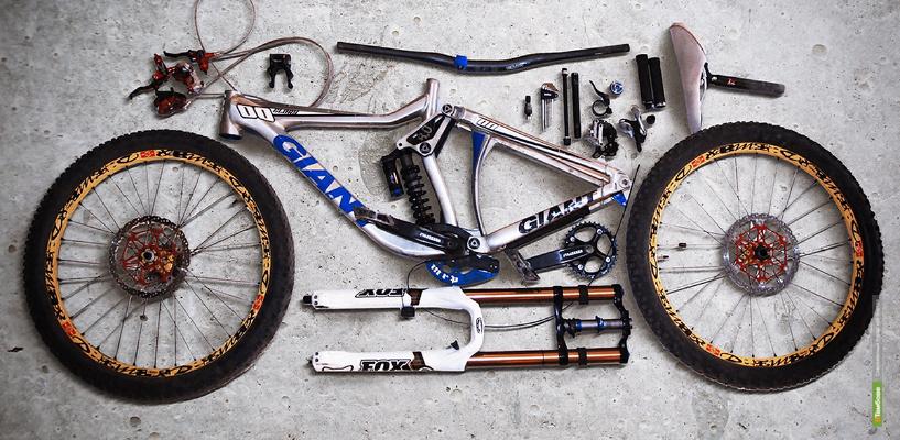 Как собрать велосипед для даунхилла