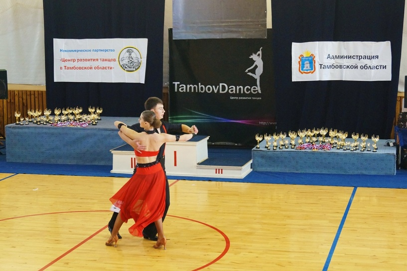 Можешь? Танцуй! В Тамбове прошел чемпионат по бальным танцам «Виктория – 2014»