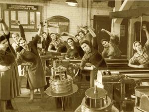 Работников завода «Октябрь» ждёт производственная гимнастика
