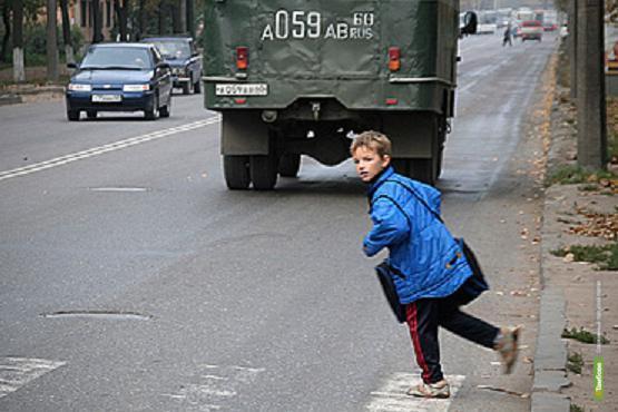 Полицейских Тамбовщины беспокоит уровень детского травматизма на дорогах