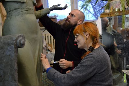Скульпторы из Тамбова представят семейную выставку