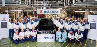 C европейского конвейера Suzuki сошёл 3-миллионный автомобиль