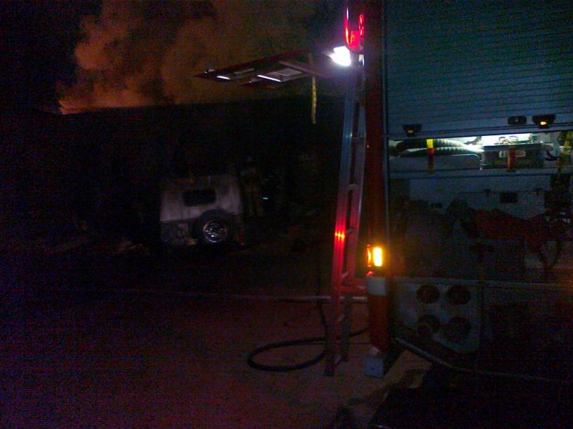 На пожаре в Тамбовском районе погибли мужчина и женщина