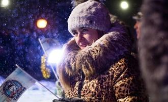 В праздники Новогоднюю столицу посетило более 160 тысяч человек