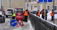 Тамбовские коммунальщики начали расчистку городских дорог