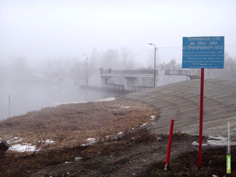 Тамбовская плотина осталась без моста