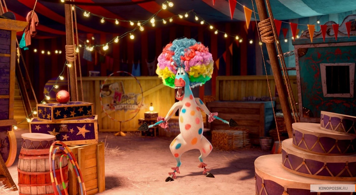 Madagascar 3 : europe 2019s most wanted ; fun like a firework!