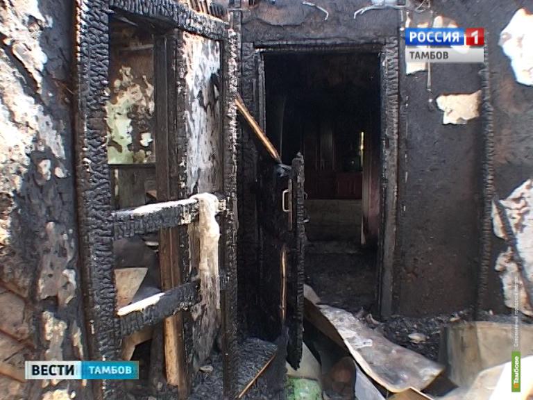 Жители Сабурово встревожены частыми пожарами