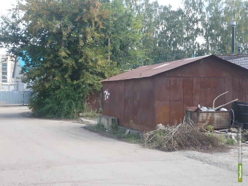 Тамбовские власти объявили войну незаконным гаражам