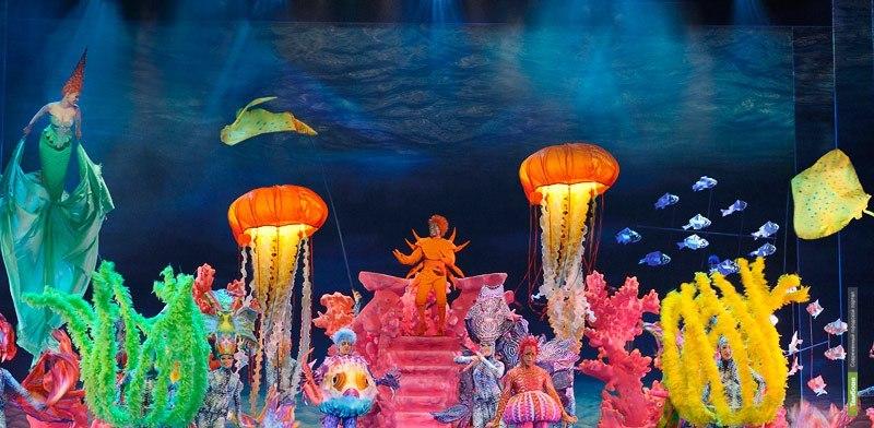 Тамбовских артистов свозили на бродвейский мюзикл «Русалочка»