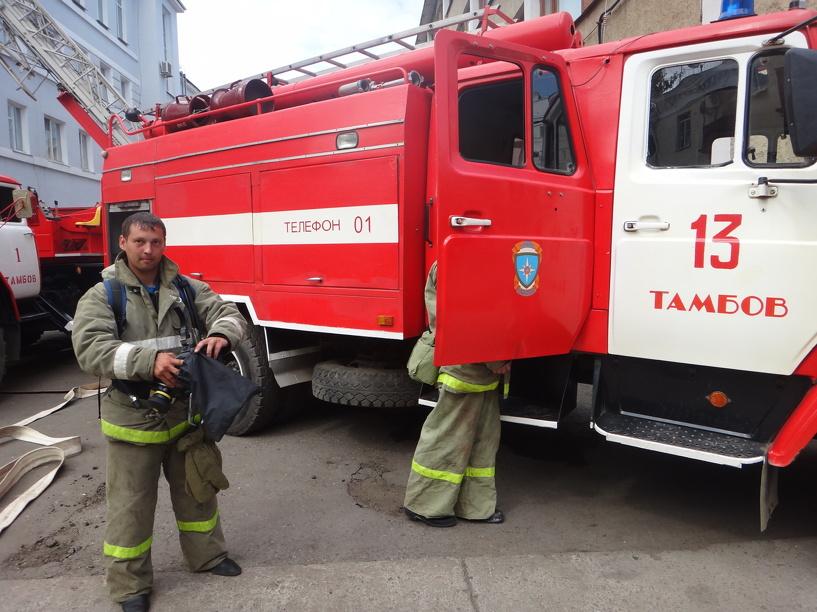 Жительница Тамбова погибла в огне