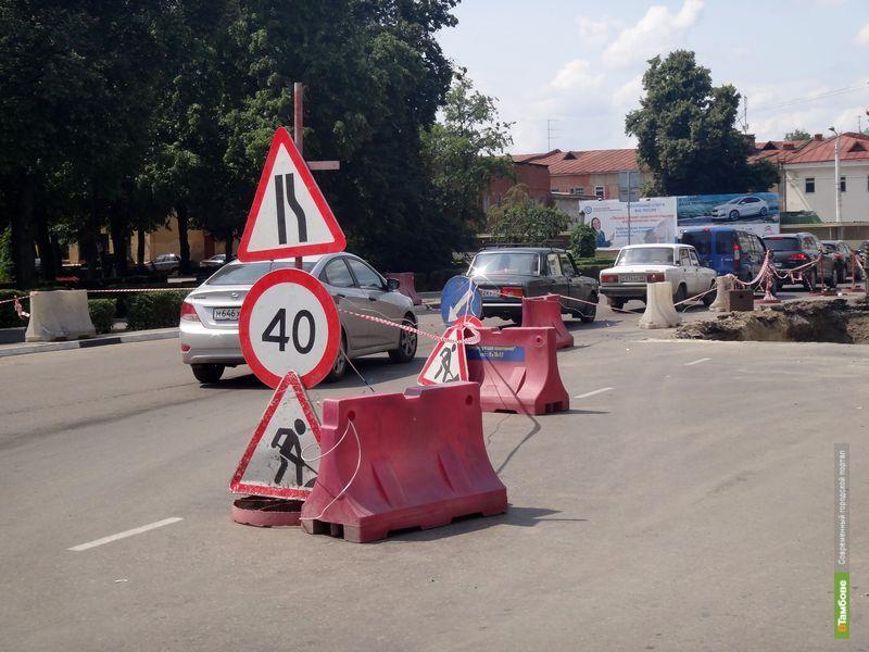 По улице Степана Разина по-прежнему сложно проехать