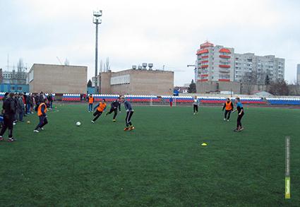 В ТГУ выбрали лучших футболистов и волейболистов