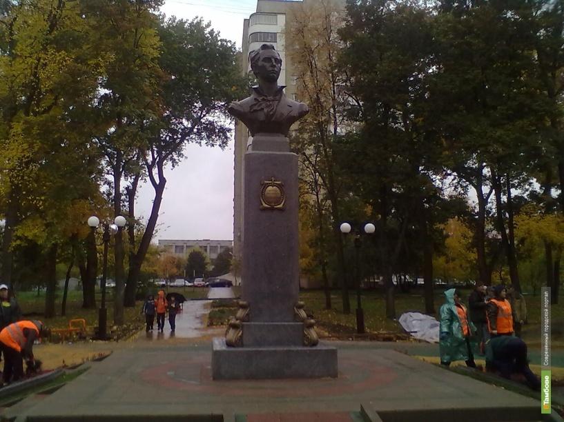 В сквере имени Рыбакова появится Боратынский
