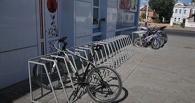 Мичуринский вуз оборудовал территорию велостоянкой