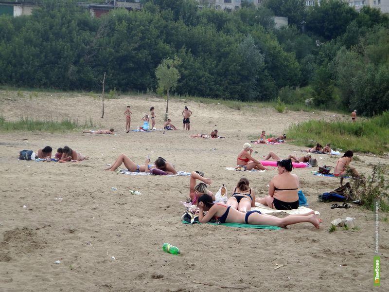 Тамбовчан притягивает отдых на небезопасном пляже