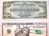 Американец расплатился в магазине купюрой в триллион доларов