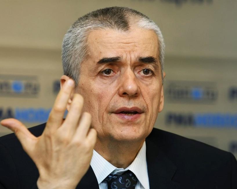 Геннадий Онищенко гонит всех чиновников на работу уже с 5 января