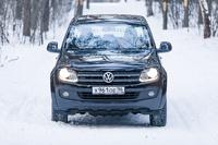 Volkswagen Amarok: волк автоматический