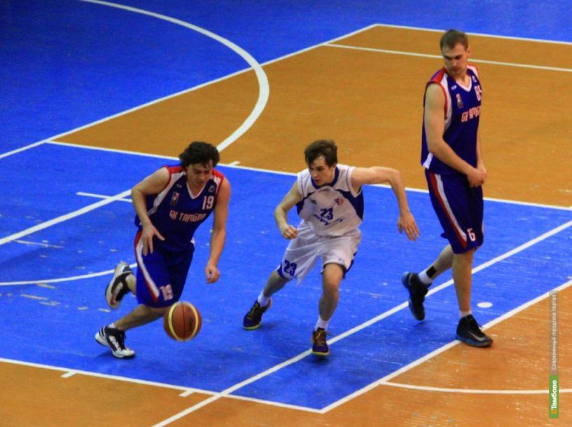 Тамбовские баскетболисты вновь одержали победу над иркутянами