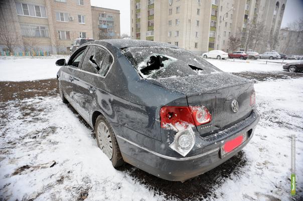 Депутату Тамбовской горДумы разбили иномарку